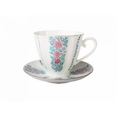 """Чашка с блюдцем чайная Гвоздика """"Маргаритки"""""""