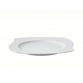 Тарелка мелкая фигурная 310 мм форма Жасмин