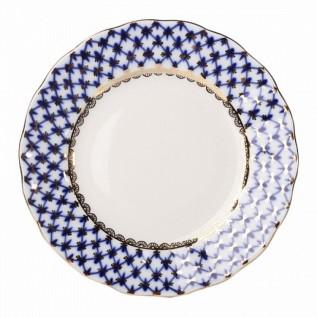 """Тарелка десертная Тюльпан """"Кобальтовая Сетка"""", 150 мм."""