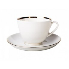 Чашка с блюдцем чайная Весенняя Белоснежка