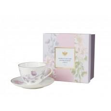 Подарочный набор чайный Весенняя - 2 Нежный пион (сиреневый)