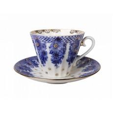 Чашка с блюдцем чайн. Лучистая Корзиночка