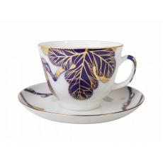 Чашка с блюдцем Подарочная Смоковница , 375 мл.