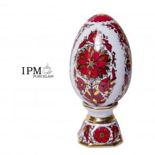 """Яйцо пасхальное на подставке """"Русский орнамент"""""""